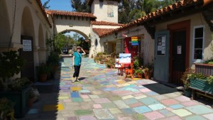 I found Great COLOR at Spanish Village, inside Balboas Park, San Diego, CA.