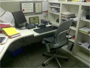 Having a desk and chair carefully selected for YOU, can help productivity!